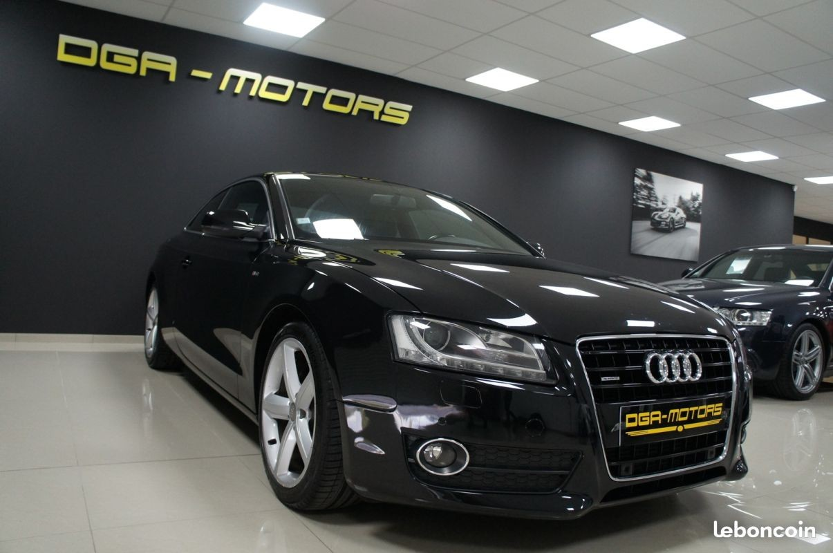 audi a5 a5 3 0 v6 tdi 240 dpf quattro s line dga motors valenciennes marly. Black Bedroom Furniture Sets. Home Design Ideas