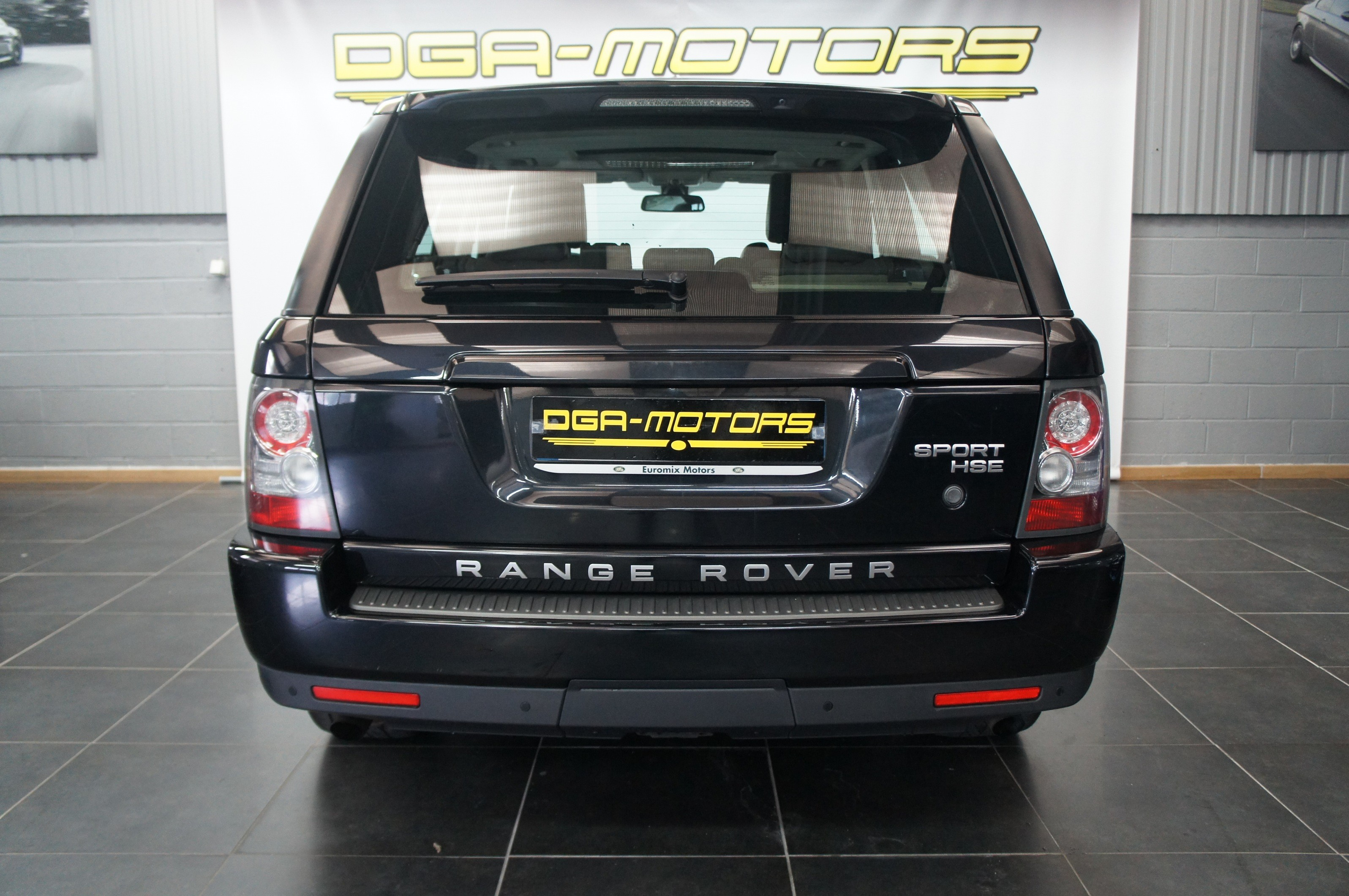 land rover rangr rover sport hse dga motors. Black Bedroom Furniture Sets. Home Design Ideas